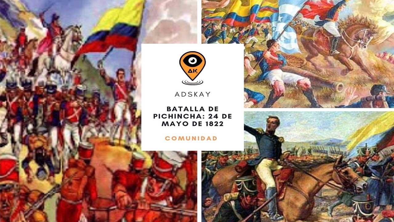 Batalla De Pichincha 24 De Mayo De 1822 Adskay